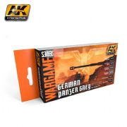 GERMAN PANZER GREY SET (WARGAME SERIES) - AK1160